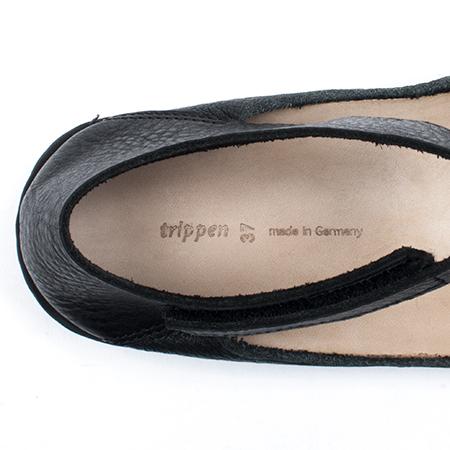 [trippen] Tilda f ( black-waw / black-mfl )