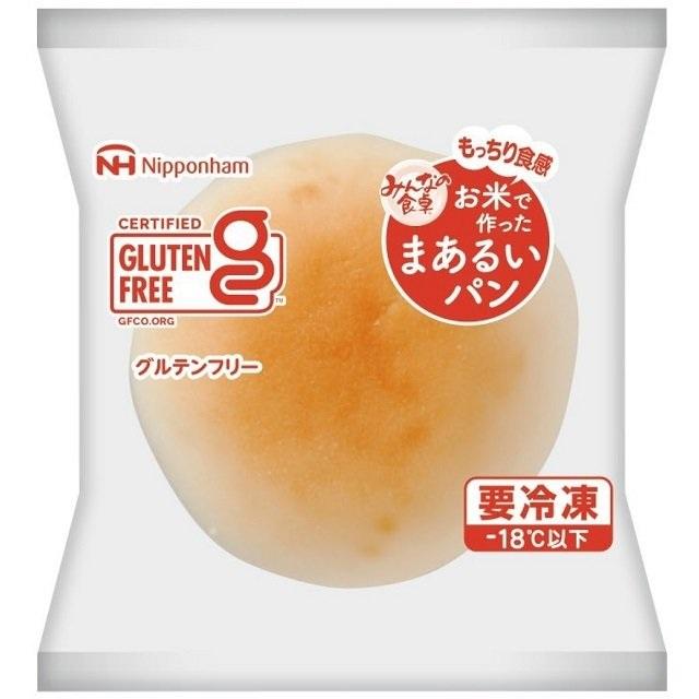 「みんなの食卓」お米で作ったまあるいパン(5個入り)【冷凍】