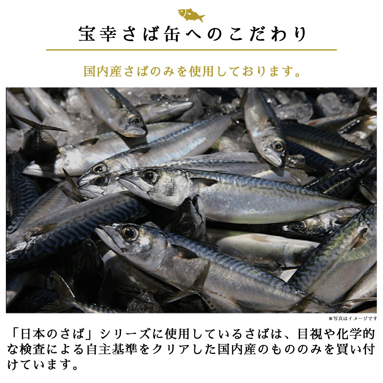 【送料無料】日本のさば 梅じそ風味24缶【常温】