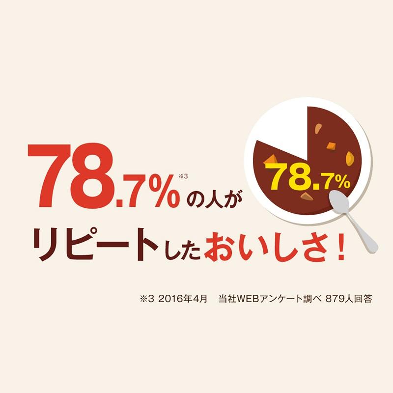 レストラン仕様 カレー中辛 (4食入り) (レンジ包材)【常温】