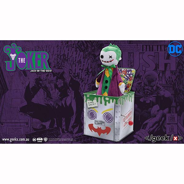 DCキャラクター ジョーカー ジャック・イン・ザ・ボックス 予約