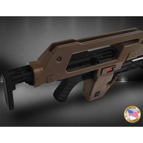 エイリアン2 1/1スケールプロップレプリカ M41Aパルスライフル ブラウン・ベス 14512