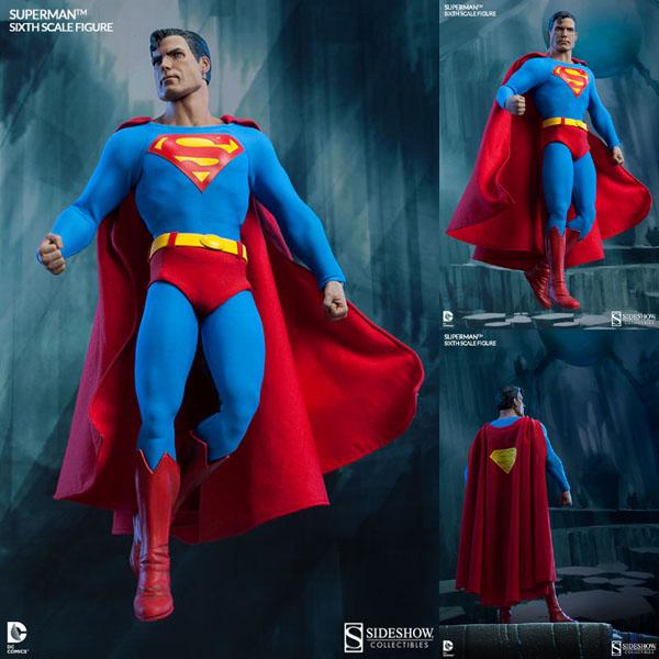 DCコミックス スーパーマン1/6スケールフィギュア スーパーマン 予約 11169