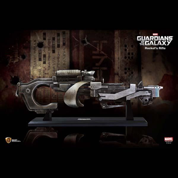 【前金制/代引き不可】ガーディアンズ・オブ・ギャラクシー マーベル等身大コレクション ロケットのライフル 予約 11476