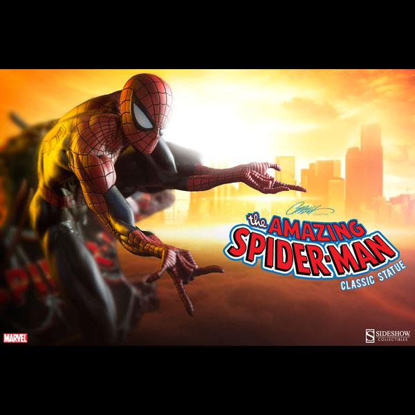 マーベル スパイダーマン スタチュー クラシック スパイダーマン 予約 11487