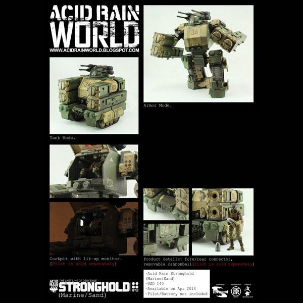 セール ACID RAIN (アシッドレイン) ストロングホールド (マリーンver.) 11817