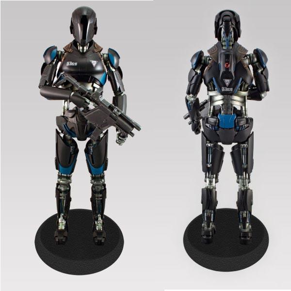 トータルリコール ライフサイズ スタチュー ロボット歩兵 シンセティック 大隊指揮官 バージョン 予約 10736