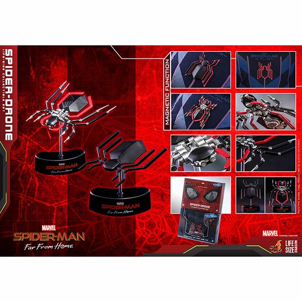 スパイダーマン:ファー・フロム・ホーム ライフサイズ・マスターピース 1/1スケールレプリカ スパイダー・ドローン