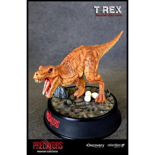 ディスカバリーチャンネル プレダトリースケールスタチュー ティラノサウルス・レックス