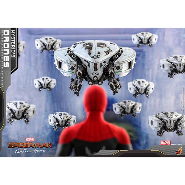スパイダーマン:ファー・フロム・ホーム アクセサリー・コレクション1/6スケールフィギュア用アクセサリー ミステリオ・ドローンセット 予約