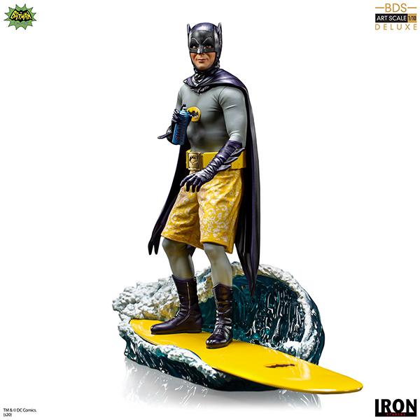 バットマン 1966年TVシリーズ デラックス・バトルジオラマ・シリーズ 1/10スケールスタチュー バットマン(サーフ・アップ版) 予約