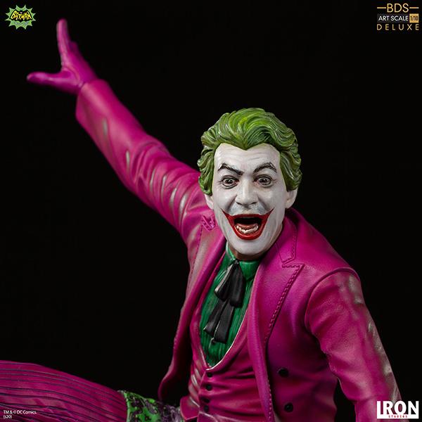 バットマン 1966年TVシリーズ デラックス・バトルジオラマ・シリーズ 1/10スケールスタチュー ジョーカー(サーフ・アップ版) 予約