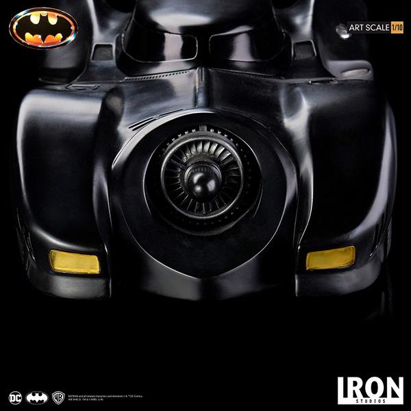 【完全前金制/代引き注文不可商品】 バットマン(1989) 1/10 アートスケールスタチュー バットモービル 予約