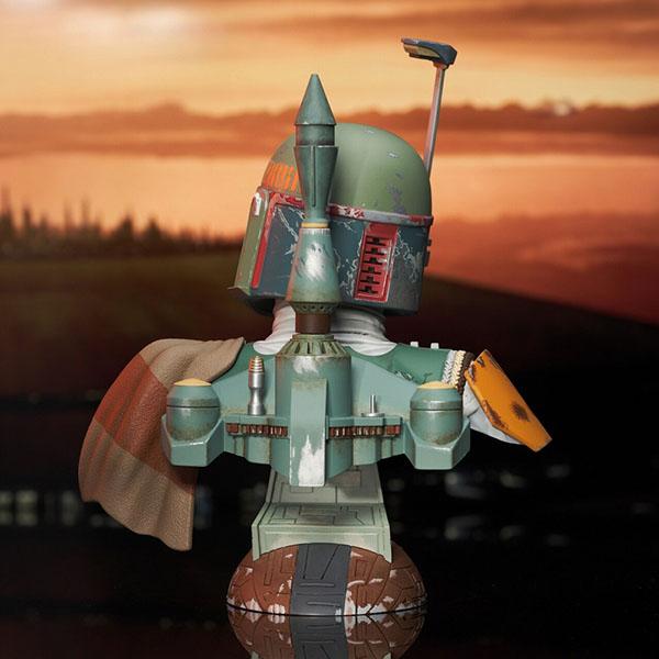 3Dレジェンズ/ スター・ウォーズ 帝国の逆襲: ボバ・フェット バスト 予約