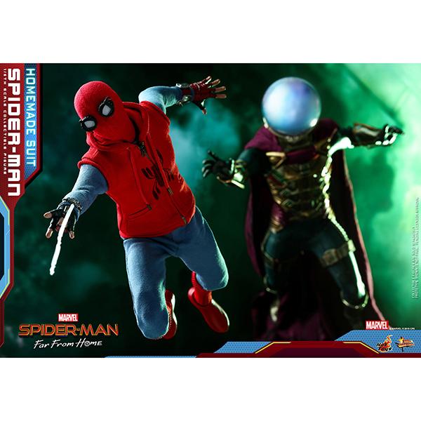 スパイダーマン:ファー・フロム・ホーム ムービー・マスターピース1/6スケールフィギュア  スパイダーマン(ホームメイド・スーツ版) 予約