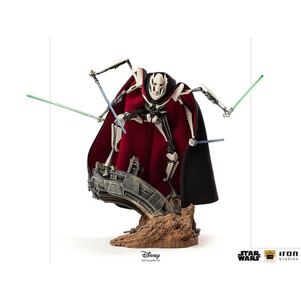 スター・ウォーズ デラックス・バトルジオラマ・シリーズ 1/10スケールスタチュー グリーヴァス将軍 予約