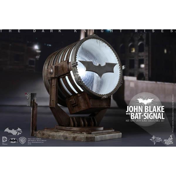 ダークナイト ライジング ムービーマスターピース1/6スケールフィギュア ジョン・ブレイク バットシグナル投光機付き 予約 11569