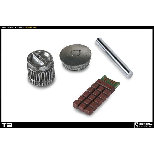 ターミネーター2 ライフサイズバスト エンドスケルトン コンバットバージョン 再生産 予約 4048