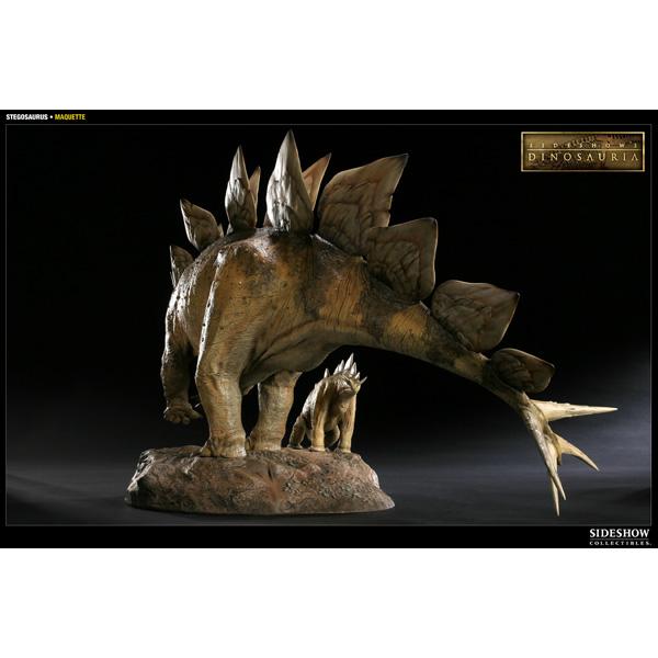 Dinosauria collectible マケット ステゴサウルス  8483