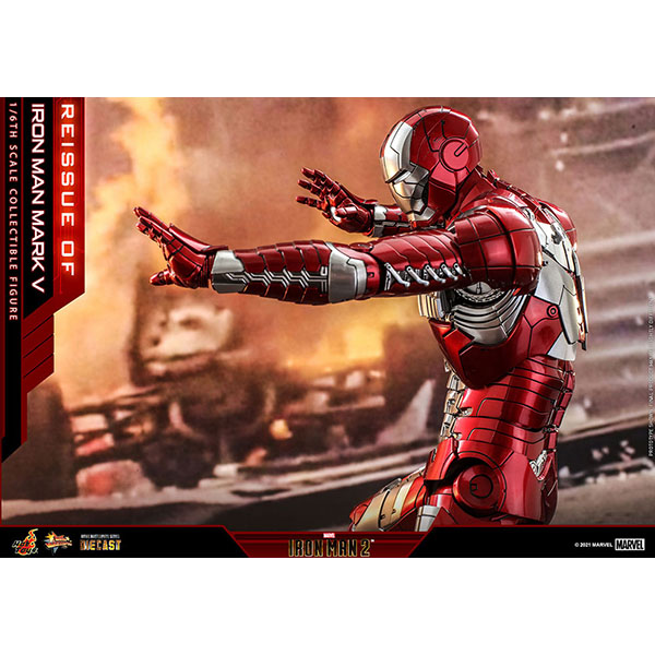 アイアンマン2  ムービー・マスターピースDIECAST 1/6スケールフィギュア アイアンマン ・マーク 5(再生産) 予約