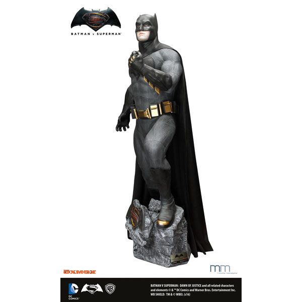 バットマンvsスーパーマン ジャスティスの誕生 等身大フィギュア バットマン【品切れになっていますが購入希望お客様はまず弊社お問い合わせ下さい】 予約 12276