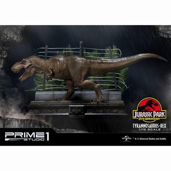 ジュラシック・パーク レガシーミュージアムコレクション 1/15スケールスタチュー T-REX ティラノサウルス・レックス 予約