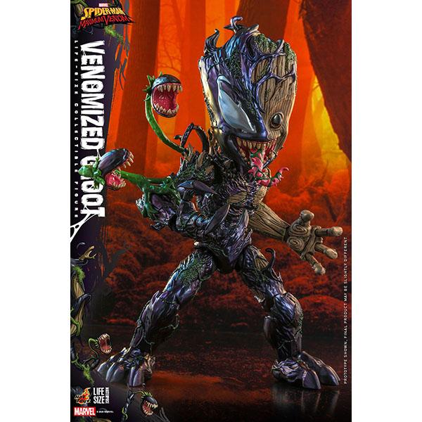 スパイダーマン:マキシマム・ヴェノム ライフサイズ・マスターピース 1/1スケールフィギュア グルート(ヴェノム版) 予約