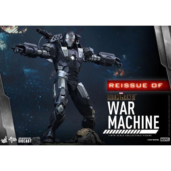 アイアンマン2 ムービー・マスターピースDIECAST 1/6スケールフィギュア ウォーマシン 再生産 予約