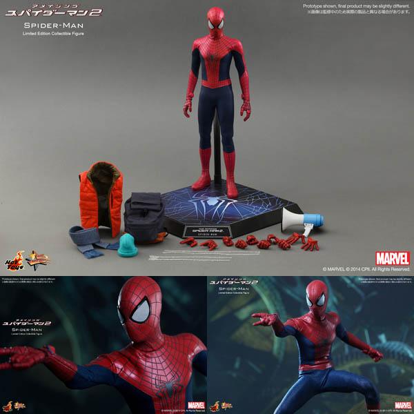 アメイジング・スパイダーマン2 ムービーマスターピース1/6スケールフィギュア スパイダーマン 予約 11175