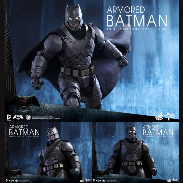 バットマンvsスーパーマン ジャスティスの誕生 ムービー・マスターピース 1/6スケールフィギュア アーマード・バットマン 予約 12282