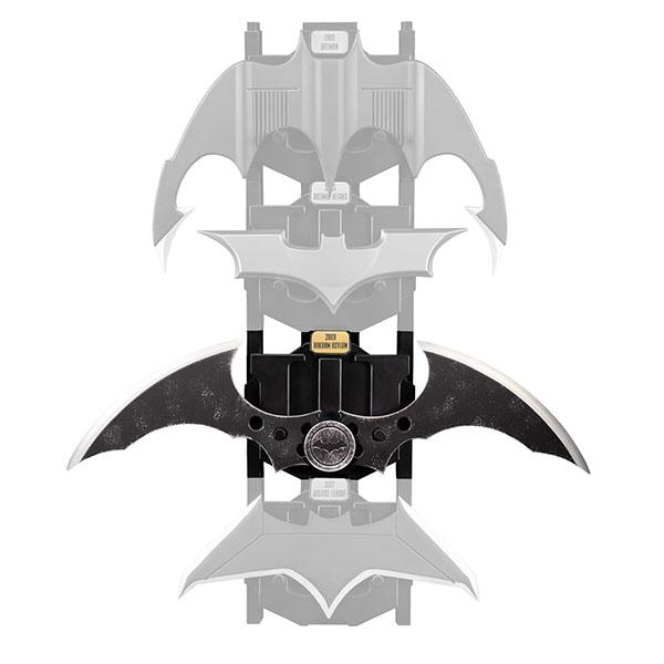 DC アイコン バットラング 1/1スケール#02ゲーム『バットマン・アーカム・アサイラム』 予約