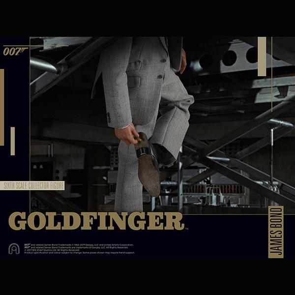 007 ゴールドフィンガー 1/6スケールフィギュア ジェームズ・ボンド 予約