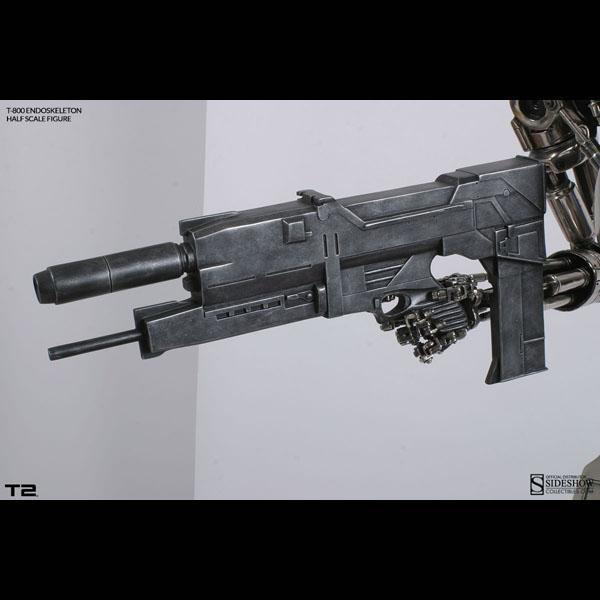 ターミネーター2 ハーフスケールレプリカ T‐800 エンドスケルトン 予約 11338