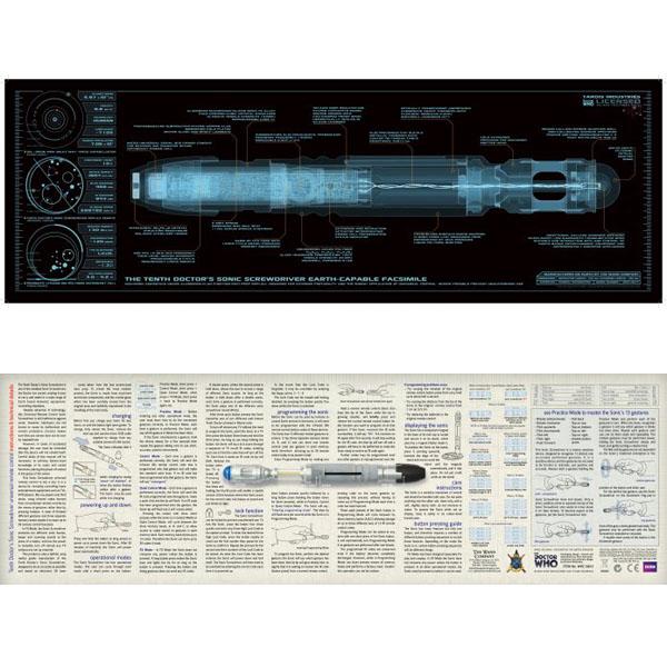 DR. WHO(ドクター・フー) ソニック・スクリュードライバー・プロップレプリカ 10代目ドクター版 予約 11395