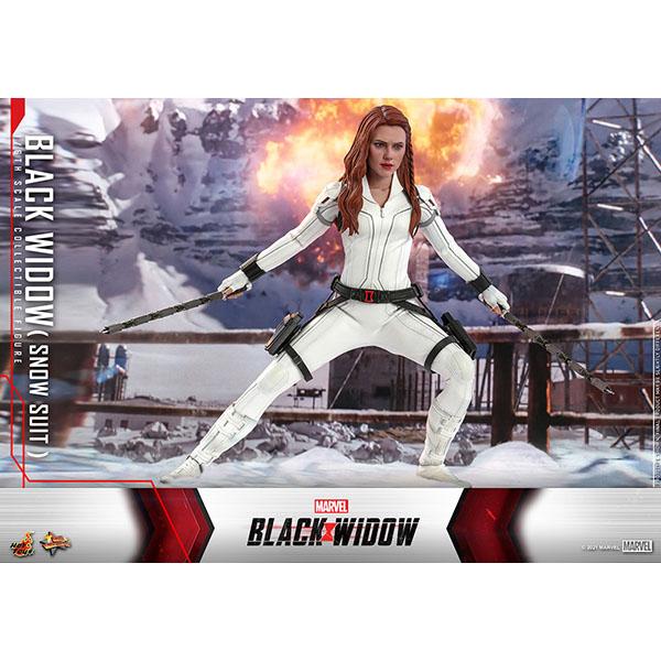 ブラック・ウィドウ ムービー・マスターピース1/6スケールフィギュア ブラック・ウィドウ(スノースーツ版) 予約