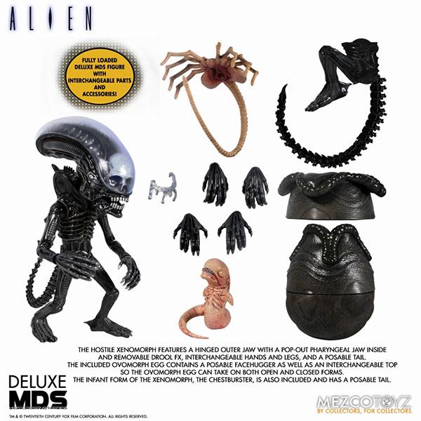 MDS デザイナーシリーズ/ ALIEN: エイリアン ビッグチャップ DX 6インチ アクションフィギュア 予約