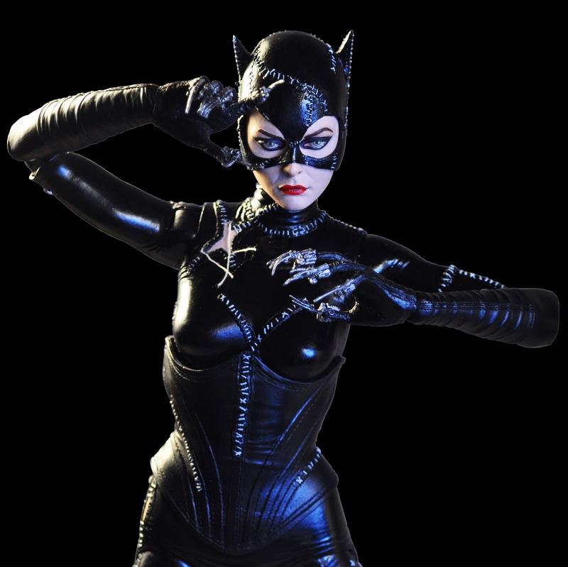【再生産】バットマン リターンズ/ ミシェル・ファイファー キャットウーマン 1/4 アクションフィギュア 予約