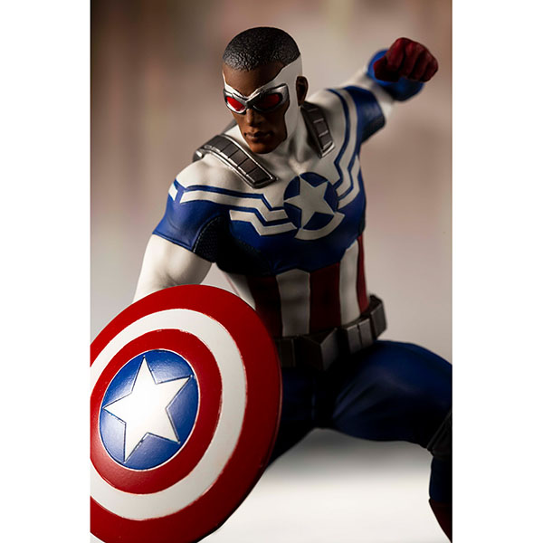 MARVEL UNIVERSE ARTFX+ キャプテン・アメリカ(サム・ウィルソン) 予約