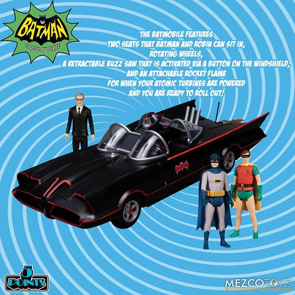 バットマン1966TVシリーズ 5ポイント バットケイブ 3.75インチ アクションフィギュア ボックスセット 予約