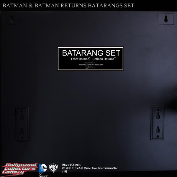 【超得の市セール】バットマン 1/1スケールプロップレプリカ バットマン&バットマンリターンズ バットラングセット【外箱ダメージ品】 11391