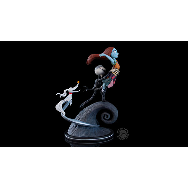 Qフィグ エリート/ NBC ナイトメア・ビフォア・クリスマス: Jack, I'm Flying サリー&ジャック・スケリントン&ゼロ PVCフィギュア  予約