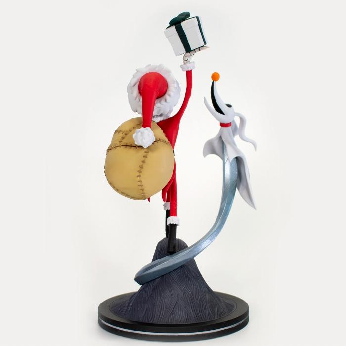 Qフィグ エリート/ NBC ナイトメア・ビフォア・クリスマス: Sandy Claws ジャック・スケリントン&ゼロ PVCフィギュア 予約