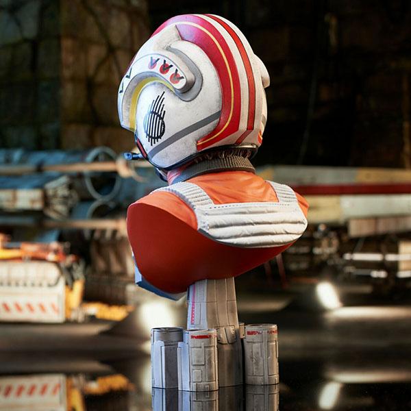 3Dレジェンズ/ スターウォーズ 新たなる希望: X-WING パイロット ルーク・スカイウォーカー バスト 予約