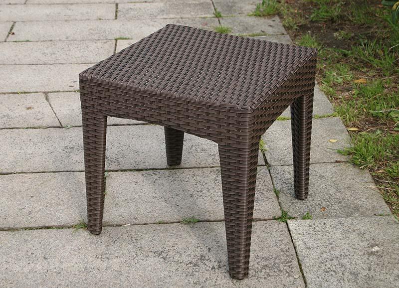 ラタン サイドテーブル45【ガーデンテーブル】