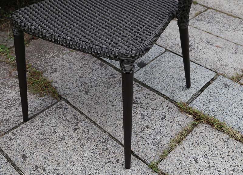 【ガーデンチェア】ラタン オーバルチェア