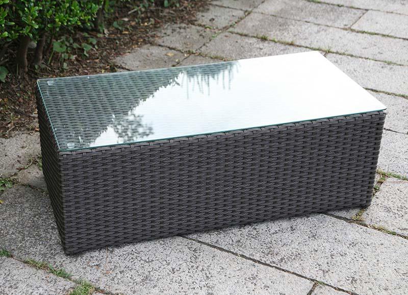 ラタン ローテーブル【ガーデンテーブル】