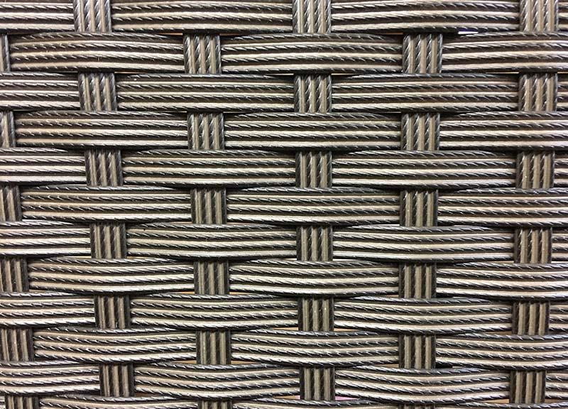 【ガーデンテーブル】ラタン ラウンドサイドテーブル60