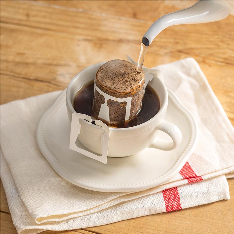 ドリップバッグコーヒー ラ・メゾンブレンド[10個入り]【送料込み】【他商品との同梱不可】【メール便でお届け】【ご自宅用におすすめ】