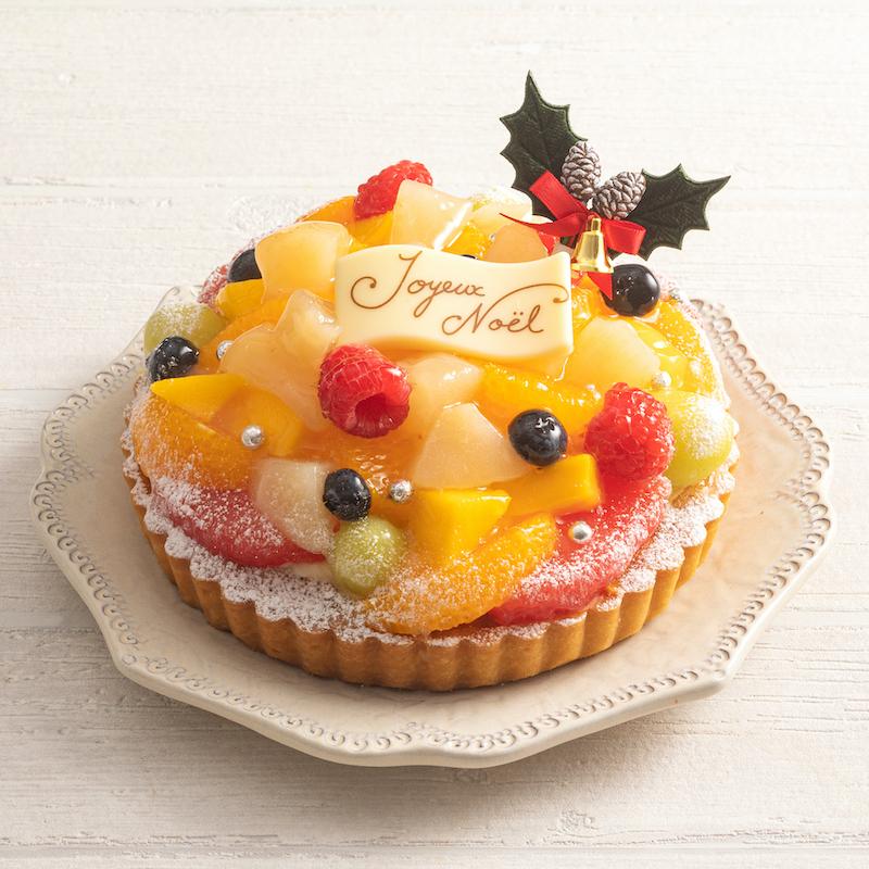 *クリスマス/限定40台*フルーツタルト・ノエル【センター北店直送】