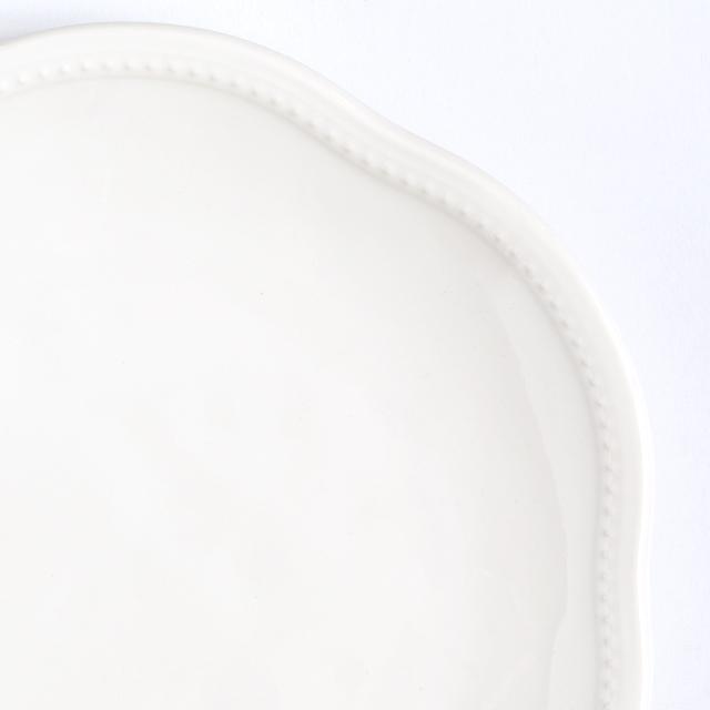 プレート / 27cm・ホワイト [ラ・メゾン オリジナル ]